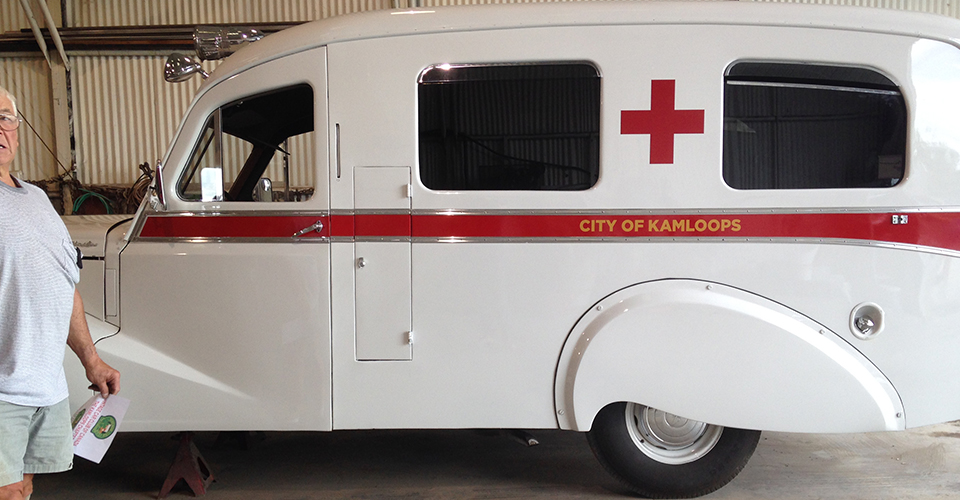Kamloops ambulance